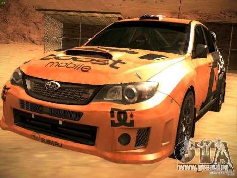Subaru Impreza Gravel Rally pour GTA San Andreas moteur