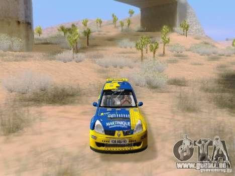 Renault Clio Super 1600 pour GTA San Andreas vue de côté