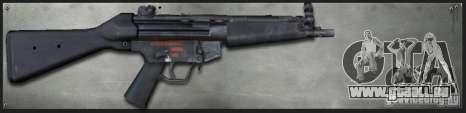 MP5A4 für GTA San Andreas