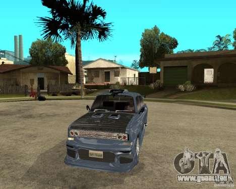 AZLK 2140 SX-Tuned pour GTA San Andreas vue arrière