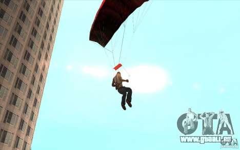 Parachute pour GTA San Andreas sixième écran