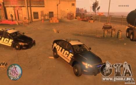 Ford Taurus Police für GTA 4 linke Ansicht
