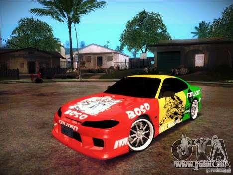 Nissan Silvia S15 BOSO Falken pour GTA San Andreas