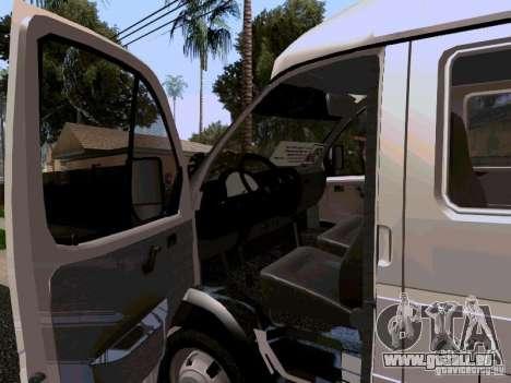Gazelle 32213 1994 für GTA San Andreas Innenansicht