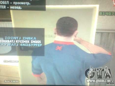 CJ affamé pour GTA San Andreas troisième écran