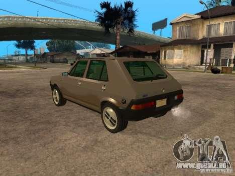 Fiat Ritmo für GTA San Andreas linke Ansicht