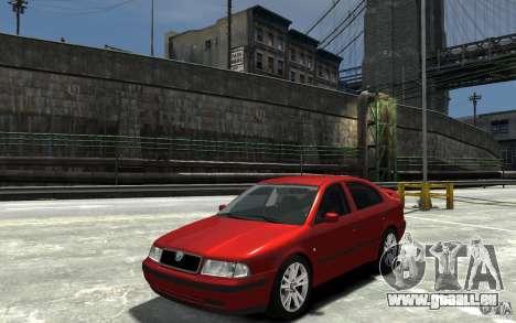 Skoda Octavia v.1.0 für GTA 4 Rückansicht