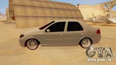 Fiat Albea pour GTA San Andreas laissé vue