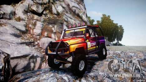 UAZ Hunter Trial v1.0 pour GTA 4