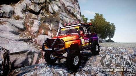 UAZ Hunter Trial v1.0 pour GTA 4