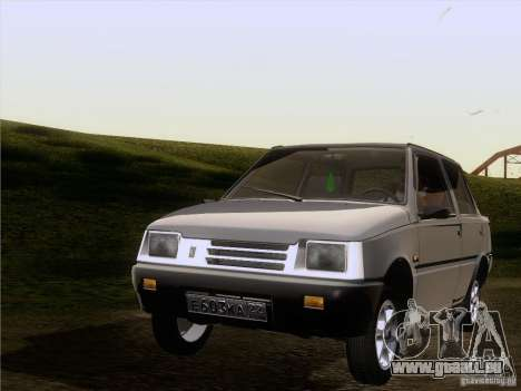 VAZ 1111 Oka Sedan pour GTA San Andreas vue arrière
