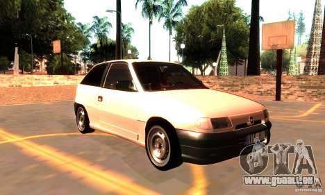 Opel Astra 1993 für GTA San Andreas rechten Ansicht