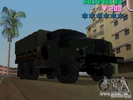 Ural 4320 für GTA Vice City linke Ansicht