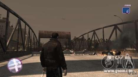 VC Style Radar/HUD (2 Skins) für GTA 4 fünften Screenshot
