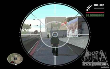 Sniper mod v 1. pour GTA San Andreas