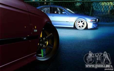 BMW M5 E39 pour GTA San Andreas vue arrière