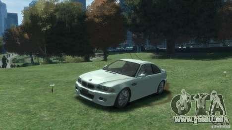BMW M3 E46 pour GTA 4 est une gauche