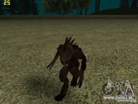 Chupacabra pour GTA San Andreas sixième écran