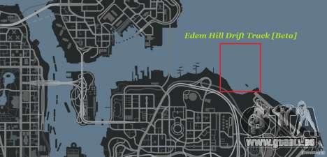 Edem Hill Drift Track für GTA 4 siebten Screenshot