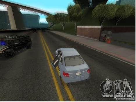 Audi A6 für GTA San Andreas obere Ansicht