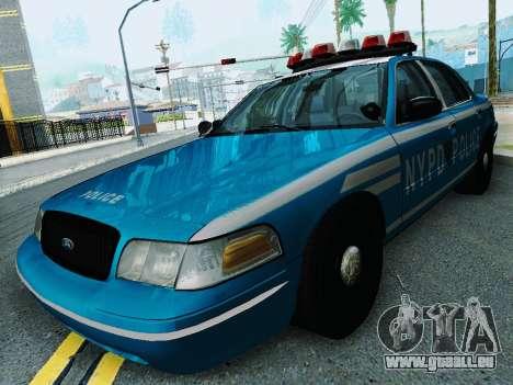 Ford Crown Victoria 2003 NYPD Blue für GTA San Andreas