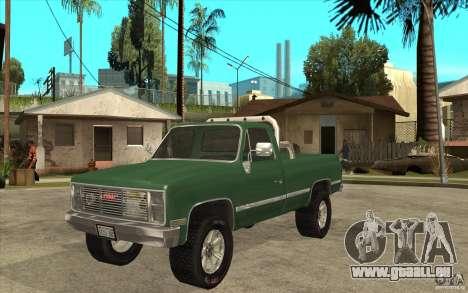 GMC Sierra 1986 für GTA San Andreas