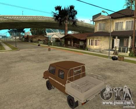 LuAZ-13021-04 für GTA San Andreas linke Ansicht