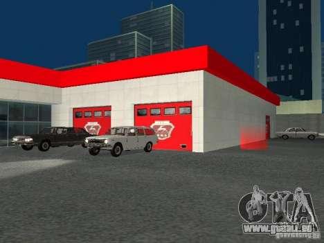Gaz pour GTA San Andreas sixième écran