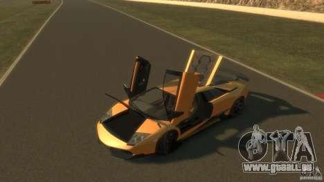 Lamborghini Murcielago VS LP 670 FINAL pour GTA 4 est une vue de l'intérieur