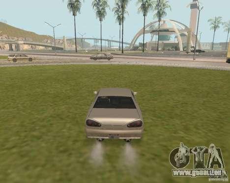 Issue de secours voiture pour GTA San Andreas troisième écran