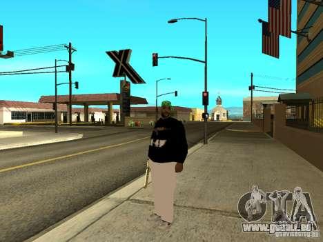 Mégalo épais pour GTA San Andreas troisième écran