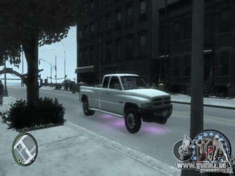 Dodge Ram 3500 pour GTA 4 est une gauche