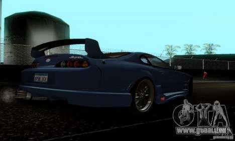 Toyota Supra TRD pour GTA San Andreas vue de droite