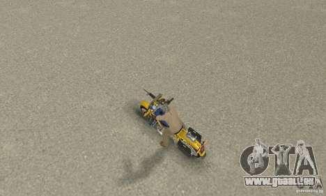 Ural Zustand für GTA San Andreas rechten Ansicht