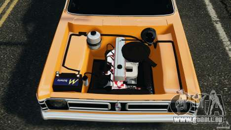 Chevrolet Opala Gran Luxo pour GTA 4 vue de dessus