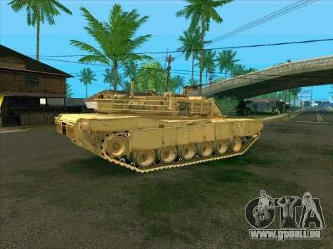 M1A2 Abrams de COD4: MW pour GTA San Andreas laissé vue