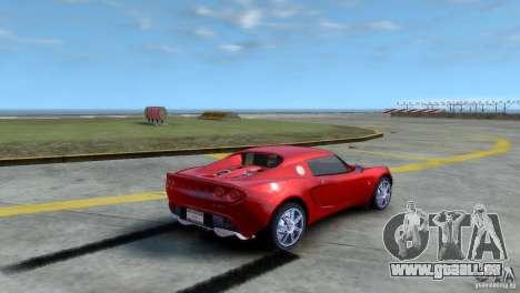 Lotus Elise pour GTA 4 est une gauche