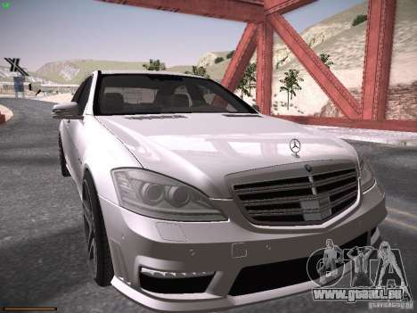 Mercedes Benz S65 AMG 2012 für GTA San Andreas linke Ansicht