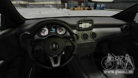 Mercedes-Benz CLA 250 2014 pour GTA 4 Vue arrière