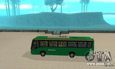 MetroBus of Venezuela pour GTA San Andreas sur la vue arrière gauche