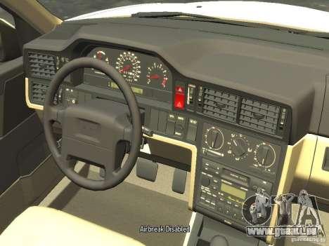 Volvo 850 R 1996 Rims 2 pour GTA 4 est une vue de l'intérieur