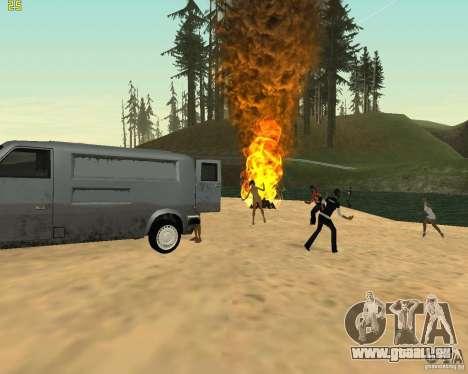 Partei auf die Natur für GTA San Andreas siebten Screenshot