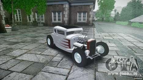 Ford Hot Rod 1931 für GTA 4 Innenansicht