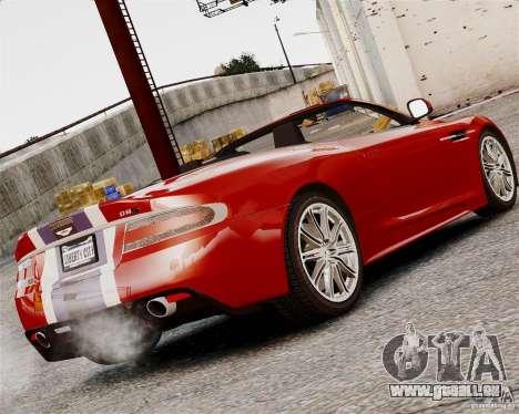 Aston Martin DBS Volante 2010 v1.5 Bonus Version für GTA 4 hinten links Ansicht