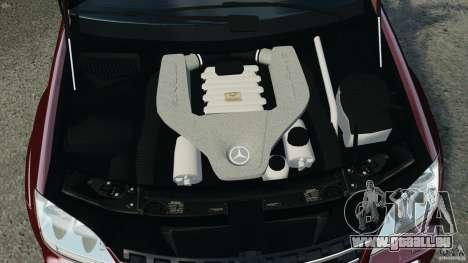 Mercedes-Benz ML63 (AMG) 2009 pour GTA 4 est une vue de dessous