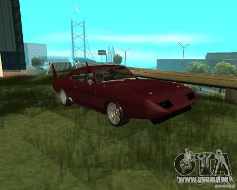 Dodge Charger Daytona für GTA San Andreas linke Ansicht