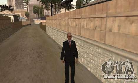 Vladimir Vladimirovich Putin für GTA San Andreas dritten Screenshot