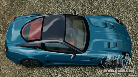 Ferrari 599 GTO 2011 pour GTA 4 est un droit