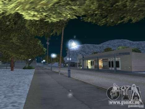 Neige pour GTA San Andreas quatrième écran