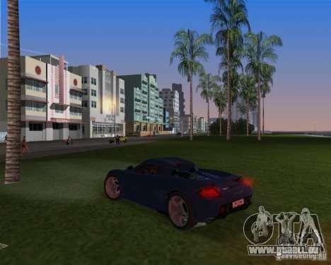 Porsche Carrera GT für GTA Vice City zurück linke Ansicht